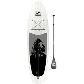 Indiana SUP 10'6 Allround Aufblasbares SUP Board Pack Premium with 3-Piece Carbon Paddle